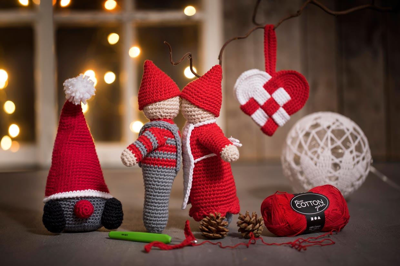 Hæklet julepynt 9 skønner og gratis idéer til hvad du kan