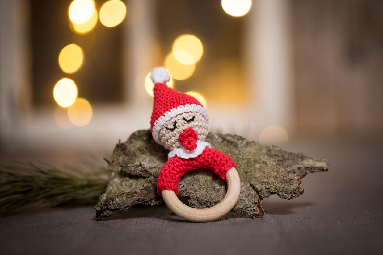 hæklet julepynt til jul