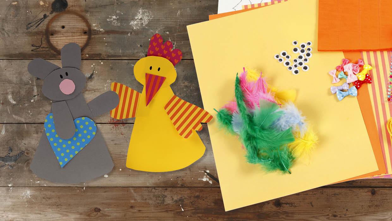 Påske og påskepynt: Papirklip til påsken