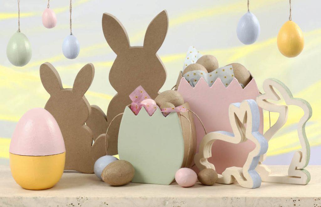 Påske og påskepynt: Dekorer dine egne påskefigurer