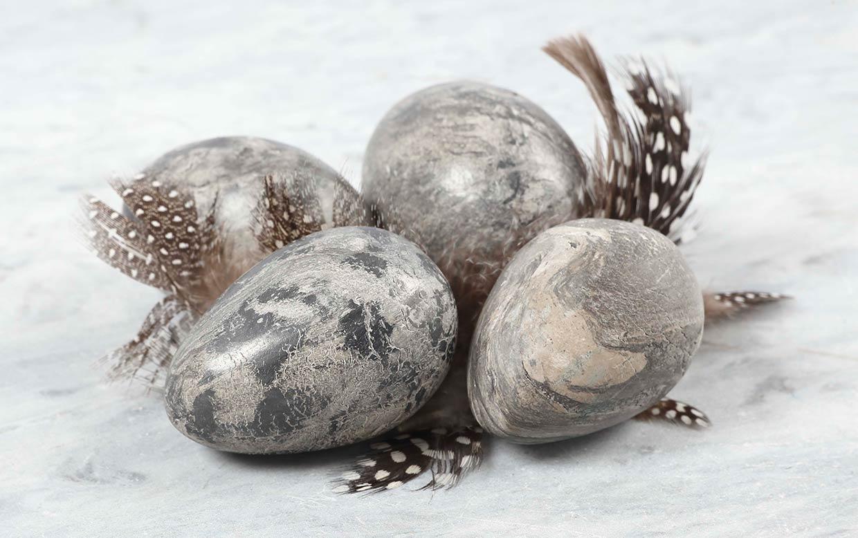 Påskeæg: Æg a la marmor til påske
