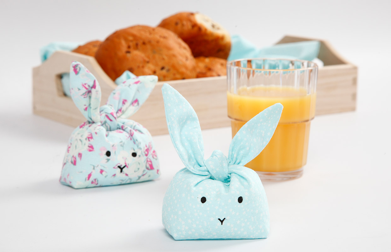 Påske: Syede kaniner til pynt og leg
