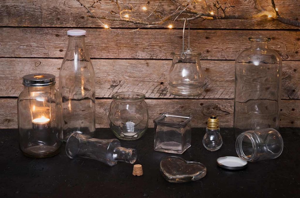 Dekoration: Glas til glasdekoration