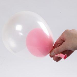Baby shower ballon idé