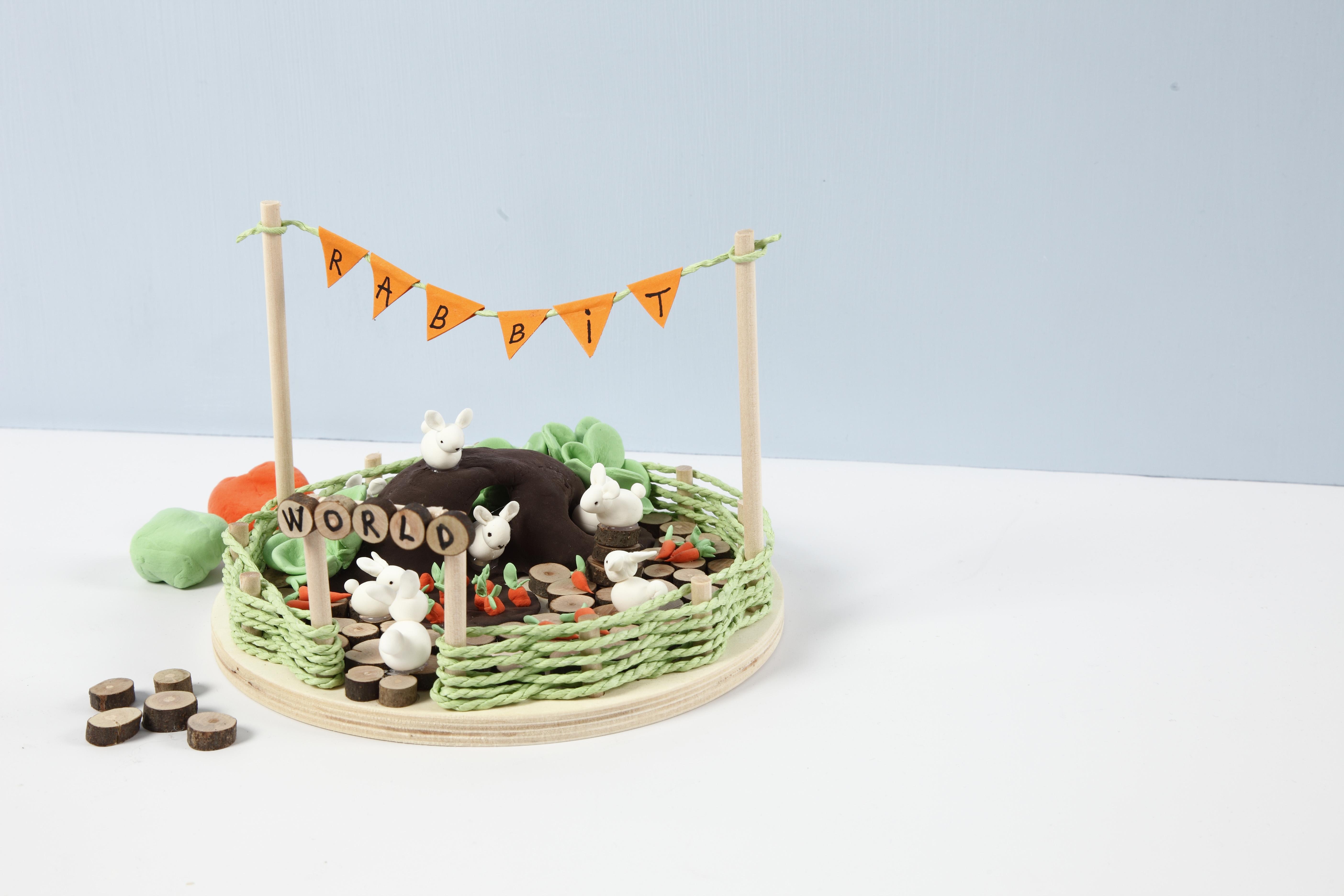Miniatyrvärld mini rabbit world