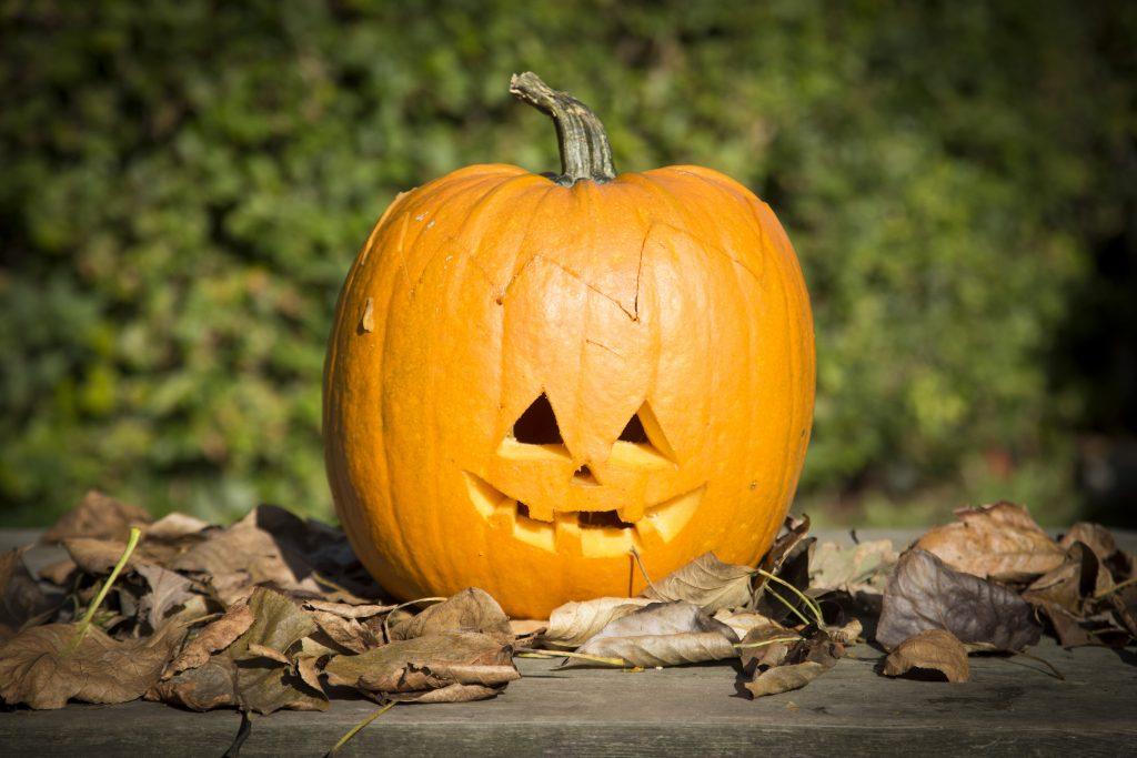 Halloween gresskar idé