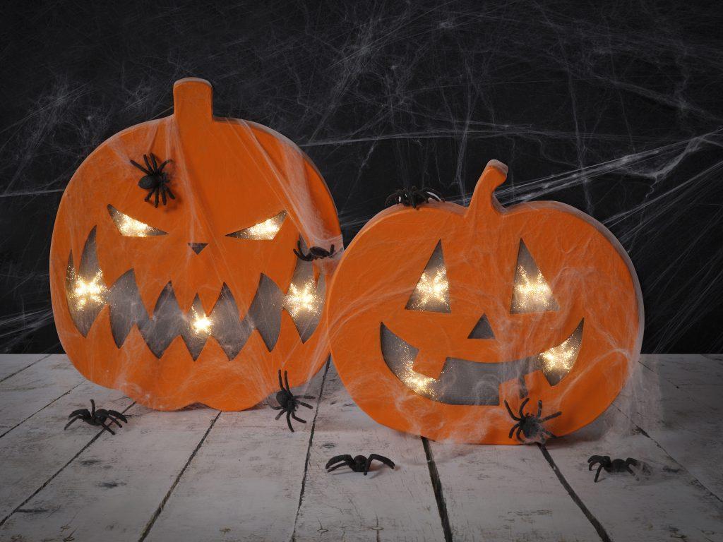 Halloween gresskar gresskarlykter inspirasjon