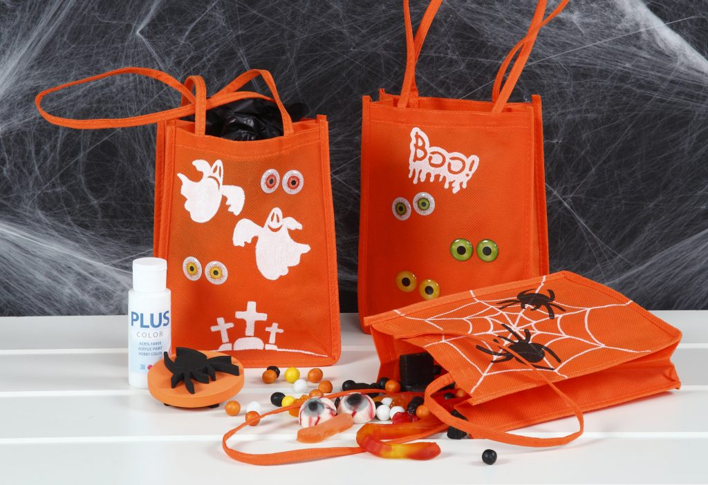 Kreativ halloween lav selv pynt til trick or treat