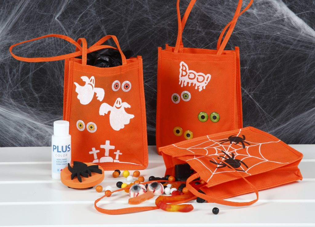 Kreativ halloween gör själv dekorationer till bus eller godis