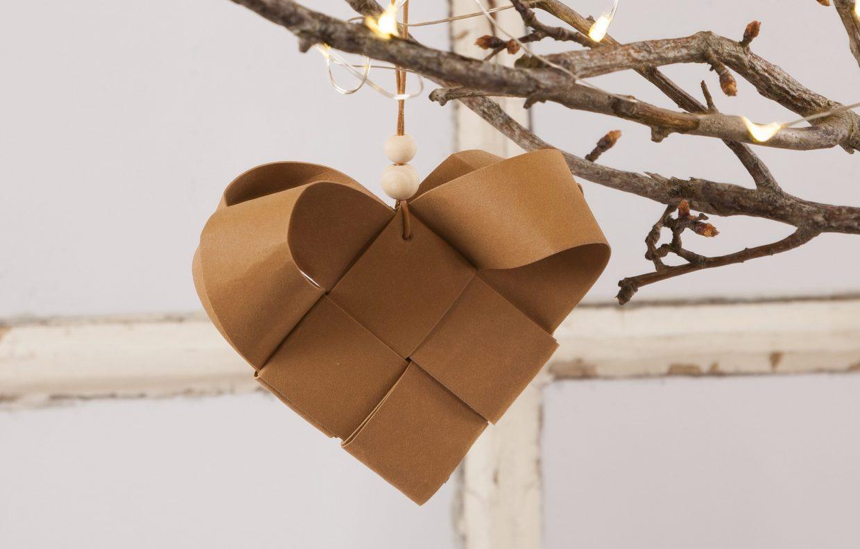 Kreative idéer med læderpapir til din lav selv julepynt