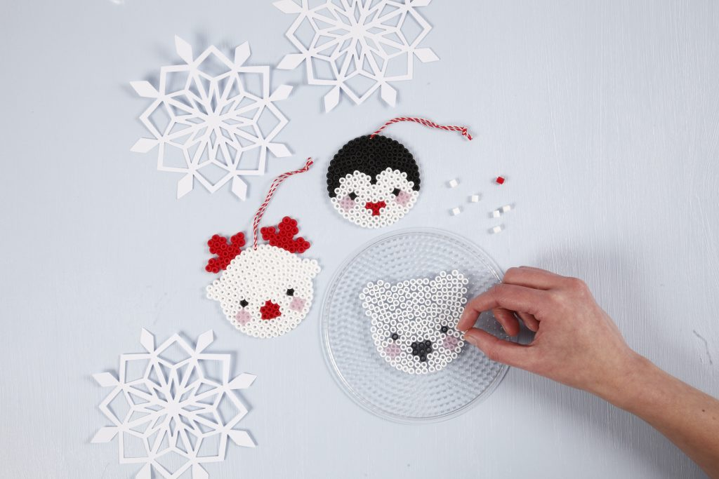 Hjemmelaget julepynt med perler til din jul 2018