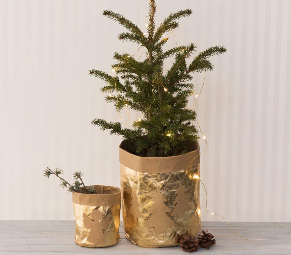 Hjemmelaget julepynt af lærpapir til din jul 2018