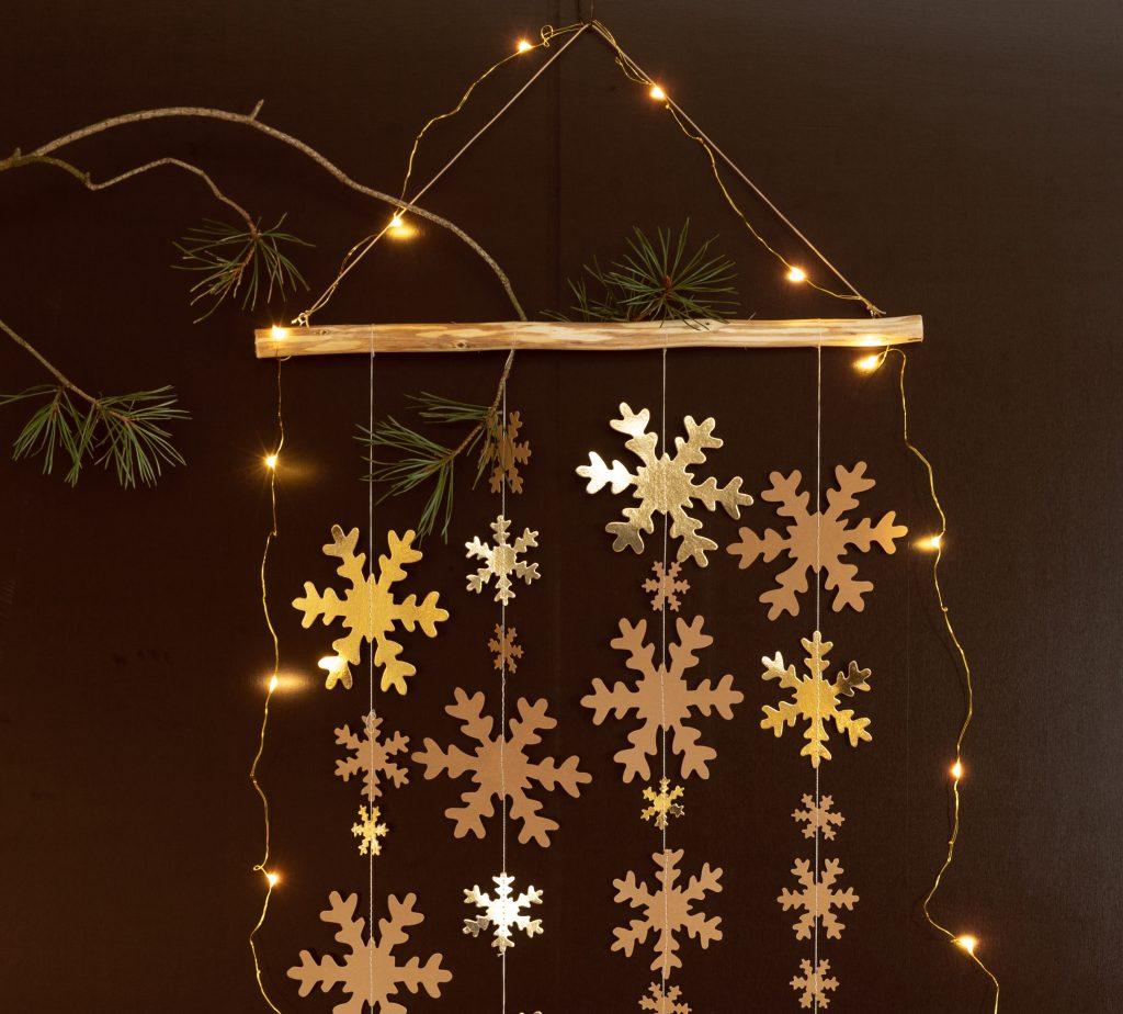 Hjemmelaget julepynt av lærpapir til din jul 2018