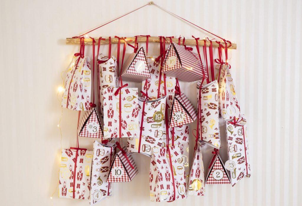 Pakkekalender til jul - kreativ indpakning af kalendergaver