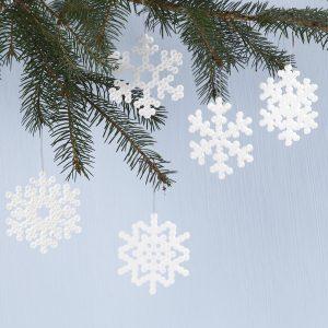 Hemmagjorda juldekorationer med pärlor till din jul 2018