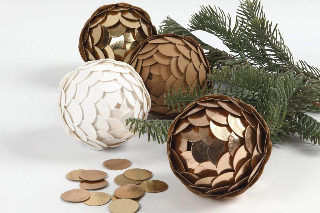 Hjemmelavet julepynt af læderpapir til din jul 2018