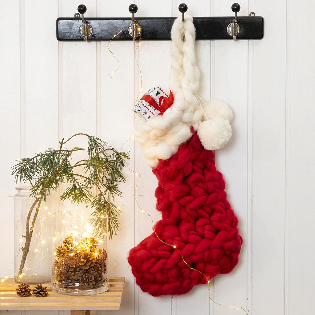 Julestrik og hæklet julepynt, du selv kan lave