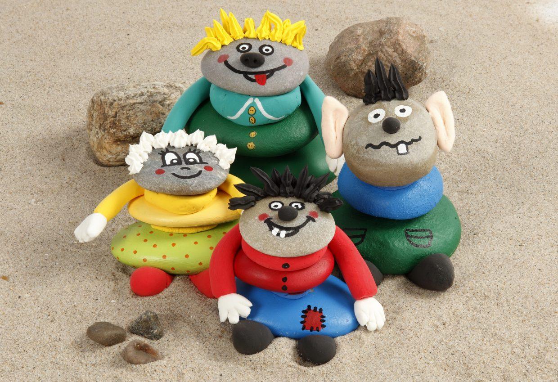 kreative idéer til børn - med inspiration og tips til at male på sten