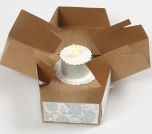 DIY explosion box som kreative idéer til fest
