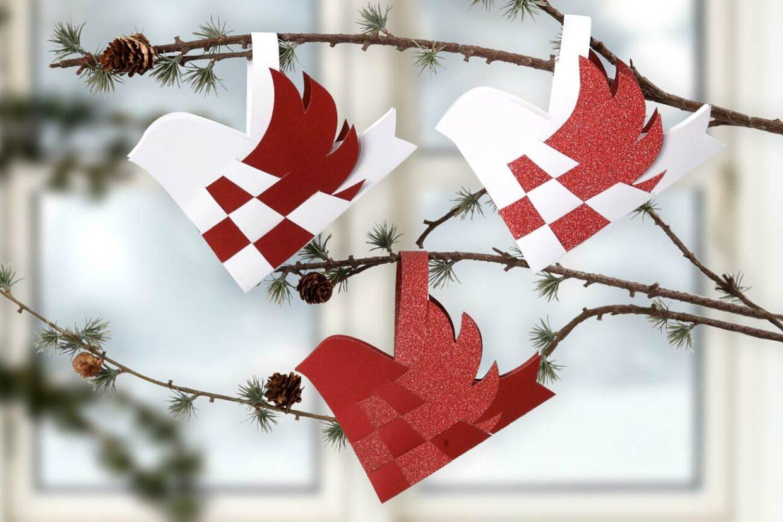juleklip til din diy jul med papir, karton og pynt