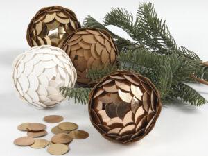 DIY julekugler til dig, som elsker hjemmelavet julepynt